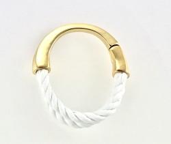 - Koton İpli Altın Kaplama Magnetli Tasarım Bileklik - Gold Kaplama